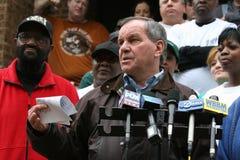 芝加哥daly il理查市长 免版税图库摄影