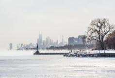 芝加哥Montrose港口 库存图片