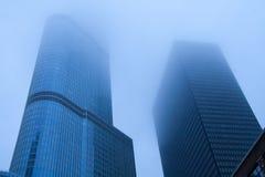 芝加哥piove 免版税库存图片