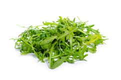 芝麻菜绿色植物生气勃勃 免版税库存照片