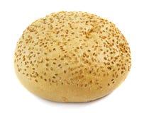 芝麻小圆面包 图库摄影