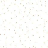 芝麻籽无缝的样式 包装的背景设计 皇族释放例证