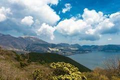 芦之湖箱根 库存照片