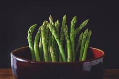 芦笋,绿色菜,芦笋菜 免版税库存照片