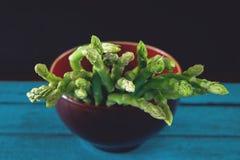 芦笋,绿色菜,芦笋菜 免版税图库摄影