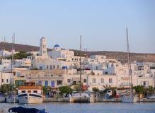 芦粟海岛在希腊 免版税库存图片