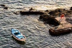 芦粟海岛  库存照片