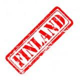 芬兰不加考虑表赞同的人 免版税库存照片