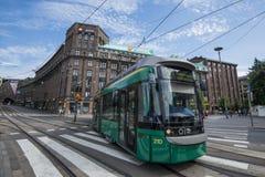 芬兰公共交通 库存照片