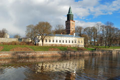 芬兰土尔库 图库摄影