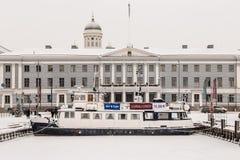 芬兰在冬天 库存图片