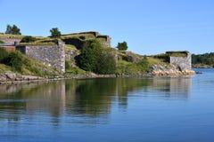 芬兰堡堡垒 免版税库存图片