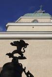 芬兰堡教会 免版税库存照片