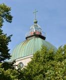芬兰堡教会 库存图片