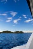 芬兰小船 图库摄影