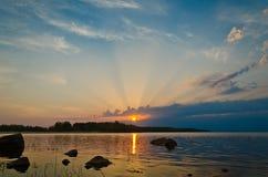 芬兰海湾 免版税图库摄影