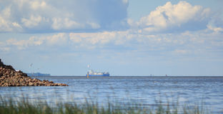芬兰海湾 免版税库存图片