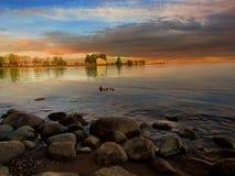 芬兰海湾 免版税库存照片