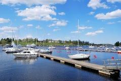 芬兰港口lappeenranta 免版税库存图片