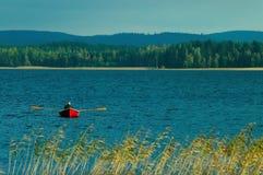 芬兰湖 库存图片