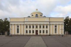 芬兰的国立图书馆 库存图片