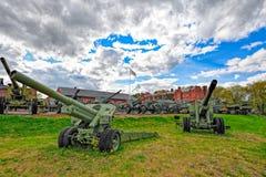 芬兰的火炮博物馆 图库摄影