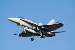 芬兰空军队 免版税库存照片