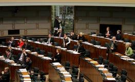 芬兰议会 免版税图库摄影