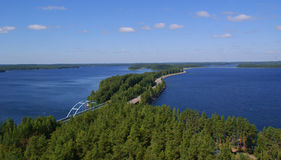 芬兰路 免版税库存图片