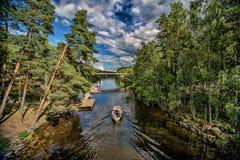 芬兰风景 库存图片