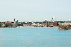 芬兰首都 免版税库存图片