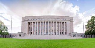 芬兰, Helsinky的议会 库存图片