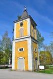 芬兰 教会在黑诺拉 图库摄影