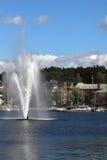 芬兰lappeenranta老码头城镇 图库摄影