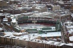 芬威球场,波士顿,马萨诸塞,美国 免版税库存照片
