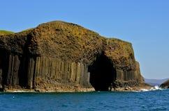 芬戈郡的洞。苏格兰 库存图片