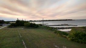 巴芬湾,得克萨斯 库存图片