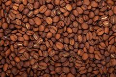 芬芳烤咖啡豆 免版税库存图片