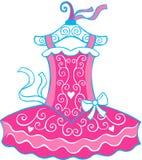 芭蕾例证芭蕾舞短裙 图库摄影