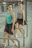 芭蕾在城市 免版税库存照片