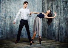 芭蕾夫妇 免版税库存照片