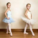 芭蕾女孩 免版税库存图片