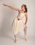 芭蕾实践 免版税库存照片