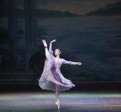 芭蕾执行 免版税图库摄影