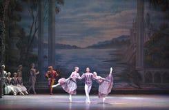 芭蕾执行 免版税库存图片