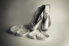 芭蕾拖鞋没有2 图库摄影