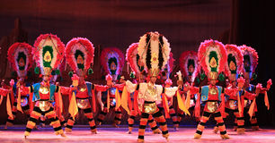 芭蕾民俗的墨西哥 免版税库存照片