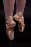 芭蕾点 免版税库存照片