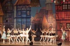 芭蕾片段 免版税库存照片