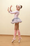 芭蕾舞女演员一点 库存图片